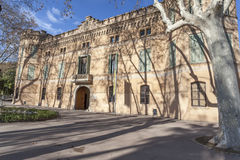 Cornella de Llobregat,Catalonia,Spain. Palace of Can Mercader, Cornella de Llobregat, province Barcelona, Catalonia Stock Photos