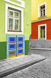 Corner. In the old town of Tallinn, Estonia Stock Images