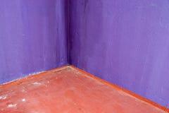 Corner of basement room Stock Photography
