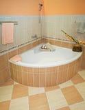 Corner bath Royalty Free Stock Photo
