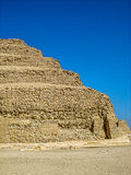 Corner blocks of the Pyramid of Djoser (Zoser) Stock Photo