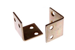 Corner brackets Stock Photography
