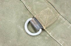 Corner Canvas Buckle Royalty Free Stock Images