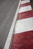 Corner on a car race track Stock Photos