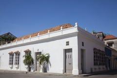 Corner of Cartagena de Indias Royalty Free Stock Photos