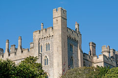 Corner of the castle Royalty Free Stock Images