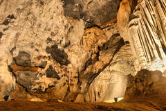 Corner of a cave Royalty Free Stock Photos