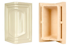 Corner ceramic tile Stock Photos