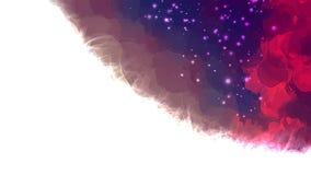 Corner cosmic abstract sky. Royalty Free Stock Photo