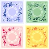 Corner Design - vector set. Stock Photography