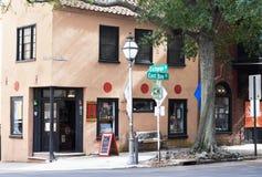 Corner of Exchange Street and East Bay Street. Stock Image