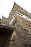 Corner of famous Himeji Castle, Japan Royalty Free Stock Images