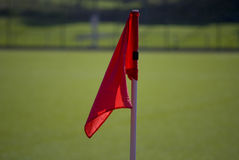 Corner flag Stock Images