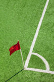 Corner flag Royalty Free Stock Images