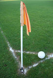 Corner flag Stock Image