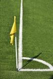 Corner flag Stock Images