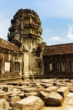 Corner gallery of Angkor Wat in Siem Reap, Cambodia Stock Photos