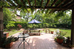 Corner of garden Royalty Free Stock Image