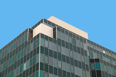 Corner of glass building Royalty Free Stock Photos