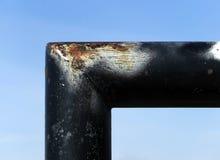 Corner of goalpost Stock Photography