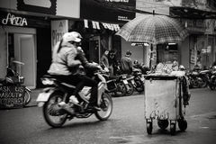 A Corner of Hanoi Stock Images