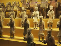 A corner of history. China Xi'an Museum of history Stock Images