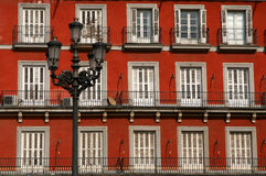 Corner House. Front of Corner House on Plaza Mayor in Madrid in spain royalty free stock photo