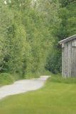 Corner of a hut Royalty Free Stock Photo