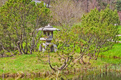 Corner of a Japanese garden Royalty Free Stock Photo