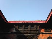 Corner in Kathmandu Stock Images