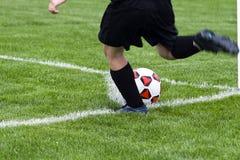 Corner Kick Royalty Free Stock Images