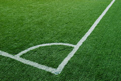 Corner Kick Area Royalty Free Stock Photos