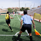 Corner Kick Royalty Free Stock Images