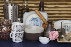 A corner of a kitchen Stock Images