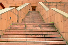 A corner of the Leshan Giant Buddha Museum Stock Photos