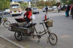 Corner of life in China. City,china Stock Photo