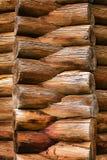 Corner of log house Stock Photo
