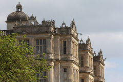Corner of Longleat House. In Wiltshire, England Royalty Free Stock Images