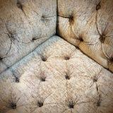 Corner of a luxurious sofa Royalty Free Stock Photos
