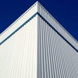 Corner of a metallic roof Stock Photography