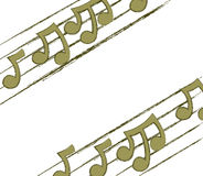 Free Corner Musical Notes Royalty Free Stock Photo - 19060615