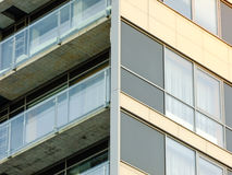 Corner of new modern Building Stock Image