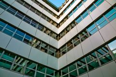 Free Corner Of The Office Building Stock Image - 12209031