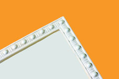 Corner panel molding  Royalty Free Stock Image