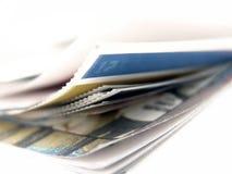 Corner of paper Stock Photography