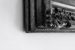 Corner of picture frame royalty free stock image
