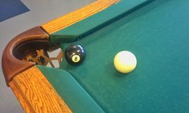 In the Corner Pocket Stock Photography