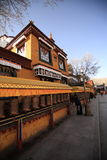 The corner of Potala Palace, Cambodia Royalty Free Stock Photography