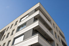 Corner of residential building Stock Photography