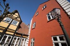 Corner in Royal Ribe Stock Image